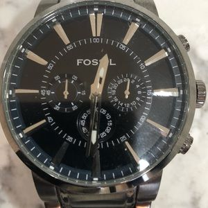 Fossil fs4358 Gunmetal Chronograph Watch
